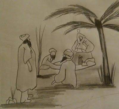 Reunión familiar de los banu Jattab