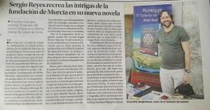 Sergio Reyes en La Opinión, dossier de prensa 2016
