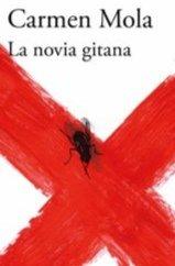 Otro detalle de la portada de La  novia gitana de Carmen Mola